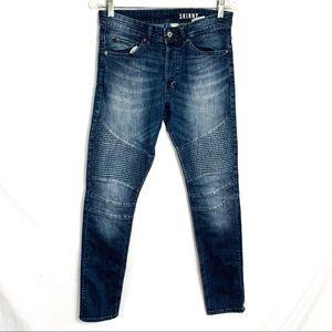 💥H&M skinny motto denim jeans 30x 30